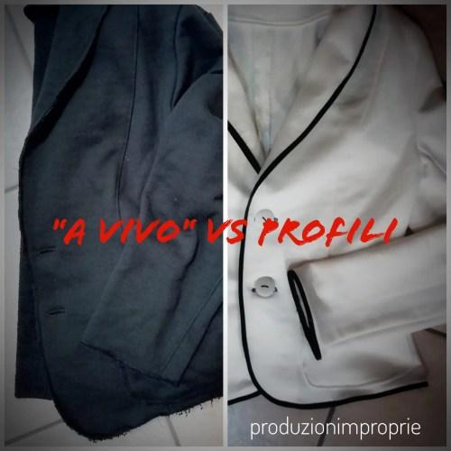 rifinitura giacca