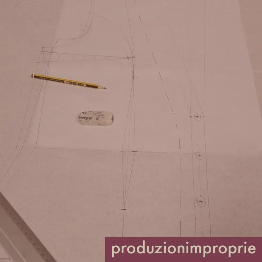 costruzione giacca partendo da il busto
