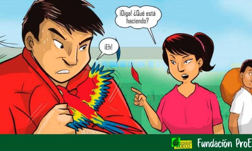 """La historieta """"Guardianes del bosque"""" enseña cómo actuar ante delitos contra flora y fauna  en Perú [PDF]"""