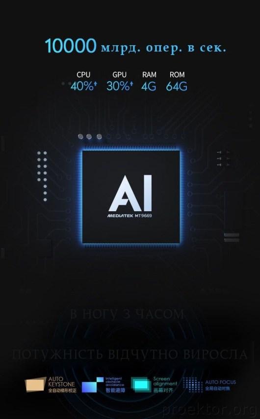 Проектор Xgimi H3s