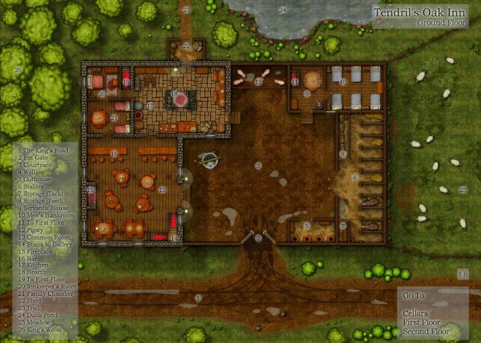 Profantasy's Map-making Journal » Blog Archive » Dungeon Map-making on