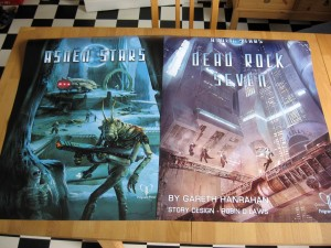 Book cover posters for GenCon
