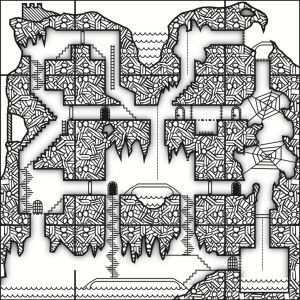 Example of Vertical Dungeon View