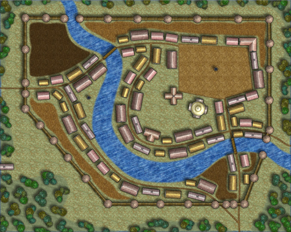 Generic Town Map