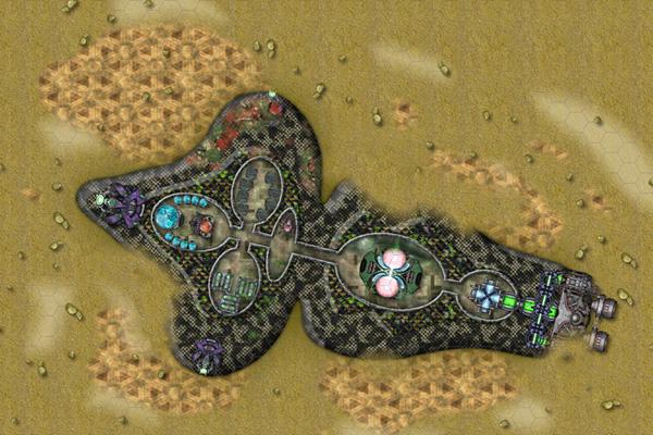 CA70 Wrecked Alien Ship