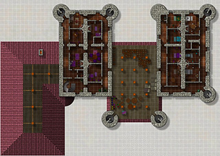 Castle floorplan