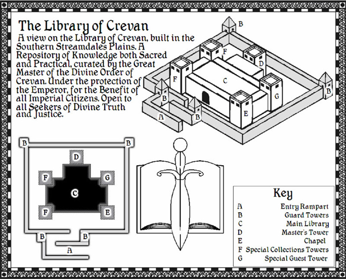 Library of Crevan