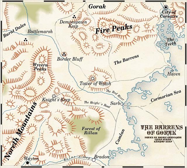 Barrens Of Gorak