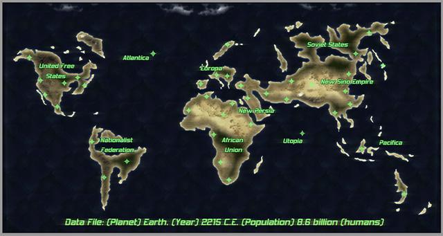 Near Future Earth