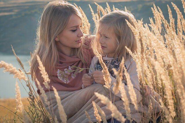Mom Daughter