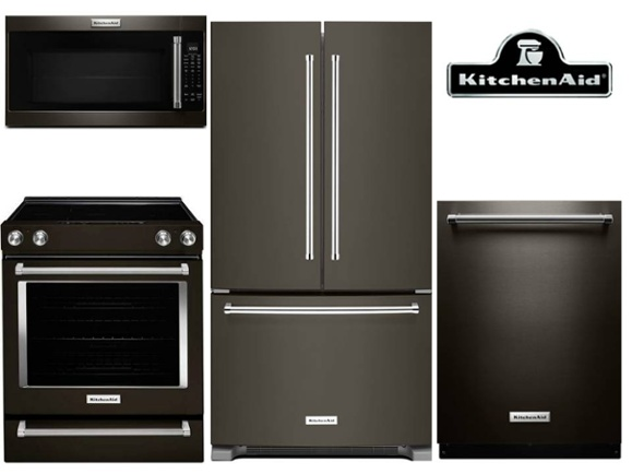 Best Black Stainless Steel Kitchen Packages From LG Samsung And KitchenAid Reviews Ratings