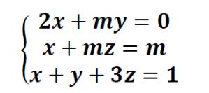sistemas de ecuaciones con parametros ejercicios resueltos
