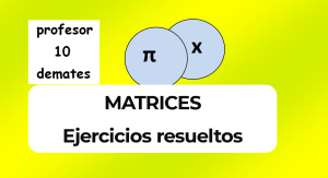 matrices y determinantes 2 bachillerato