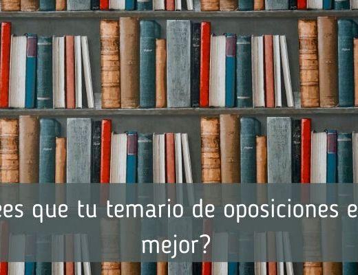 El mejor temario para oposiciones de Lengua y Literatura
