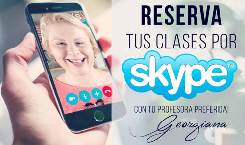 Reserva tus clases de inglés por Skype