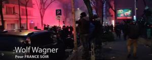 Violences lors de la Marche des Libertés à Paris