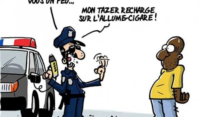Un commissaire de police suspendu après avoir envoyé une carte de voeux caricaturale