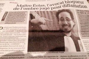 Questions à Maître Eolas sur l'affaire Francis Lalanne / France-Soir