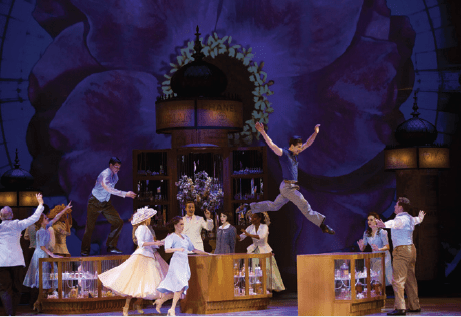 La coproduction du Châtelet, An American in Paris au sommet