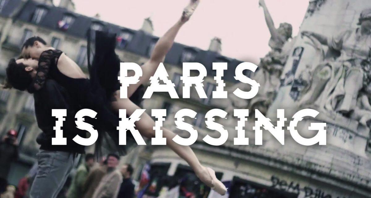 Les amoureux qui s'bécotent sur la voie publique (Paris)