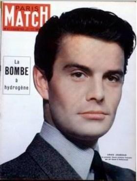 Louis Jourdan - Couverture de Paris Match n°47 - 1950