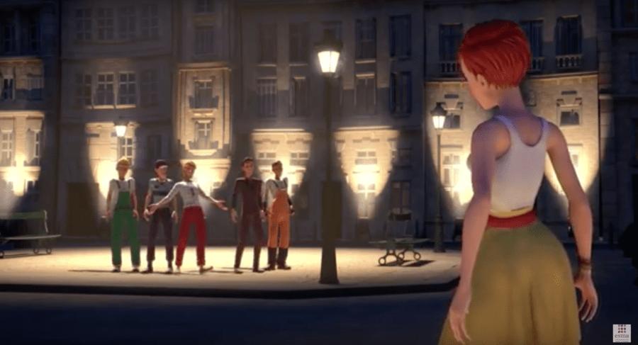 Une jeune Parisienne harcelée de tous côtés, sur fond de comédie musicale… un court-métrage vidéo signé ESMA