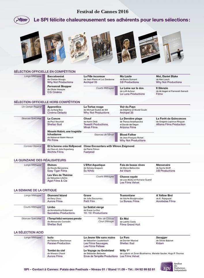 Le SPI à Cannes 2016 (1)