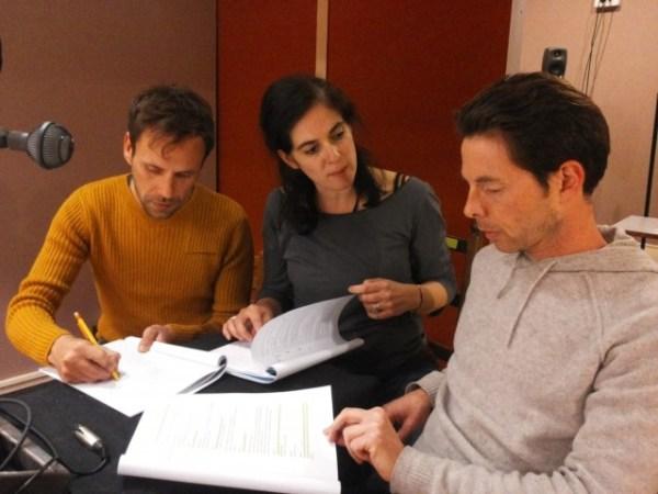De gauche à droite : Emmanuel Suarez, Sophie-Aude Picon et Vladimir Ant.