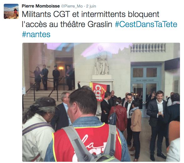 Intermittents à Nantes