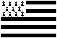 Bretagne - Drapeau breton