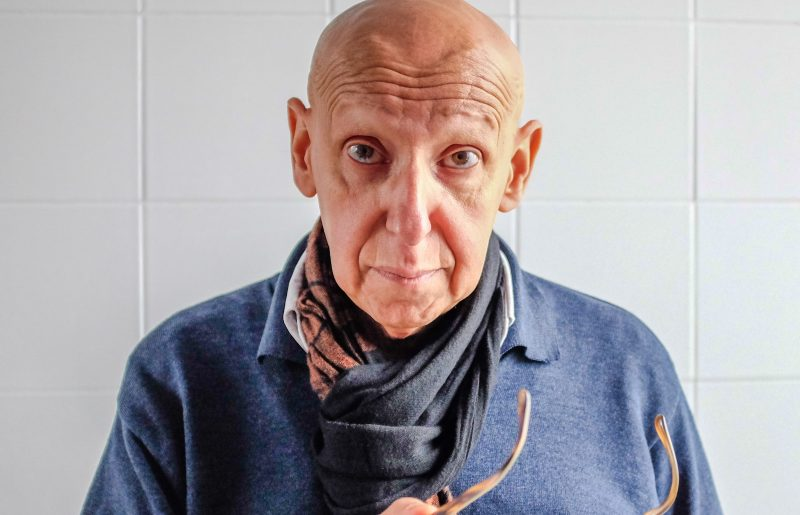Jacques Hadjaje, comédien en exil avec la langue pour seule patrie !