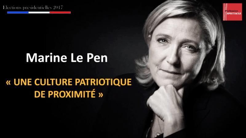 La culture selon… Marine Le Pen