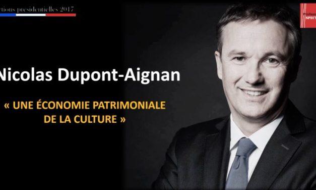 La culture selon… Nicolas Dupont-Aignan