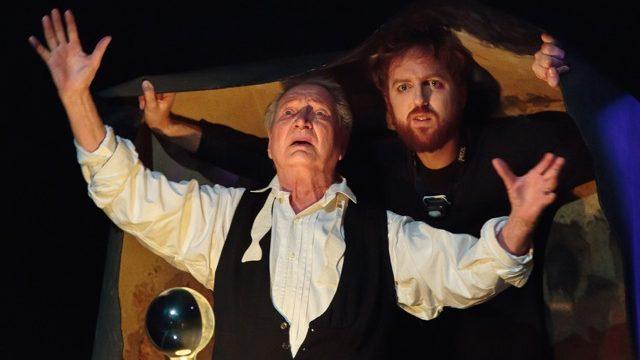 «Le Chant du cygne» par Robert Bouvier: un Tchekhov à la mode fantaisiste