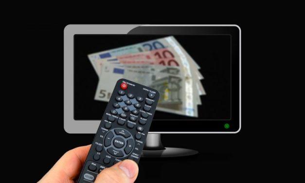 Le volume de publicité diffusée sur les chaînes de télévision est en hausse de 9,7 % en 2019
