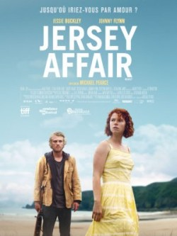 Michael Pearce, Jersey Affair, avec Jessie Buckley, Johnny Flynn (affiche)