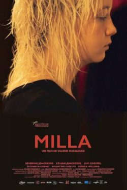 Valérie Massadian, Milla, avec Severine Jonckeere, Luc Chessel (affiche)