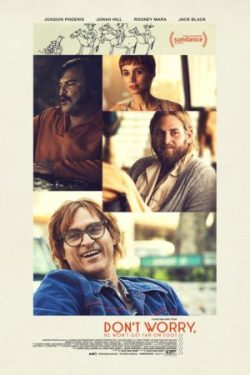 Gus Van Sant, Don't Worry, He Won't Get Far On Foot (affiche)