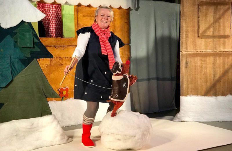 Agnès Lebourg : Youpi, il neige ! (DR)