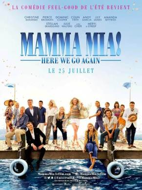 Mamma Mia ! Here We Go Again, Affiche