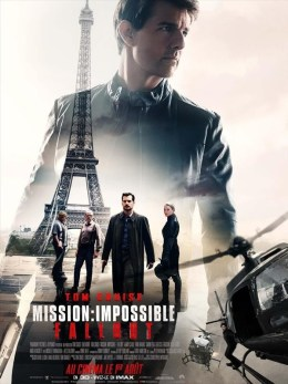 Mission : Impossible, Fallout, Affiche
