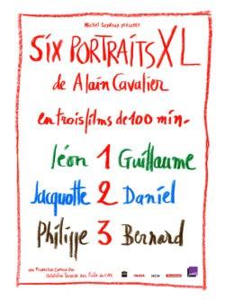 Alain Cavalier - Six Portraits XL, affiche film