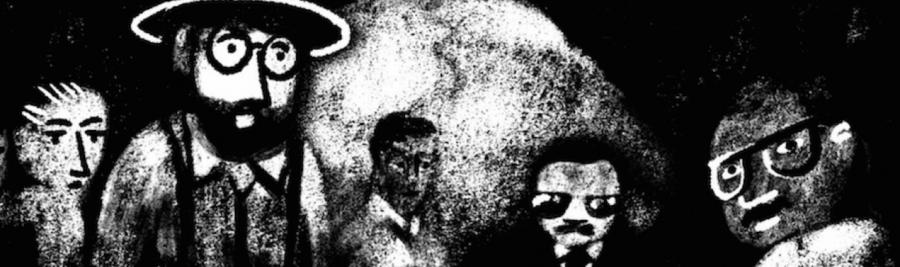 Nicolas Champeaux et Gilles Porte, Le procès contre Mandela et les autres, documentaire, dessin de Oerd van Cuijlenborg