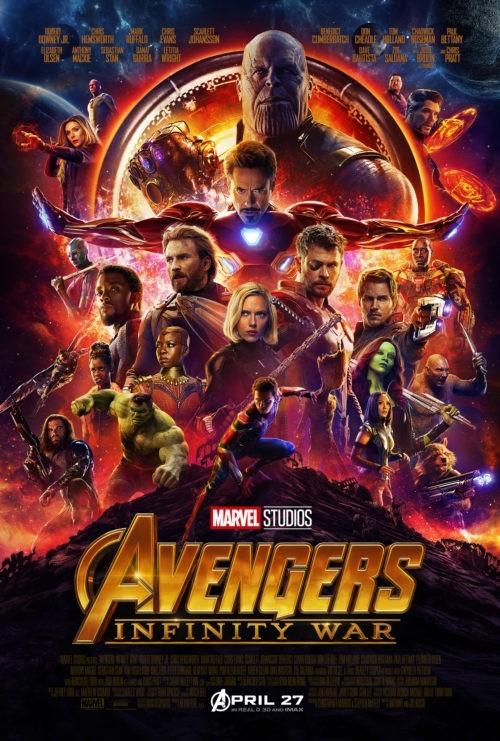 Avengers - infinity war (affiche)