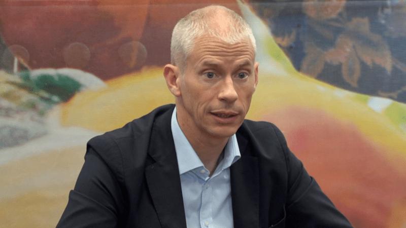 Franck Riester, tête de liste aux municipales à Coulommiers