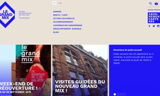 Tourcoing – Réouverture du Grand Mix, scène de musiques actuelles