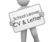 School leaver CV and cover letter package UK