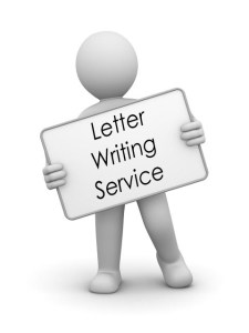 Letter writing service uk