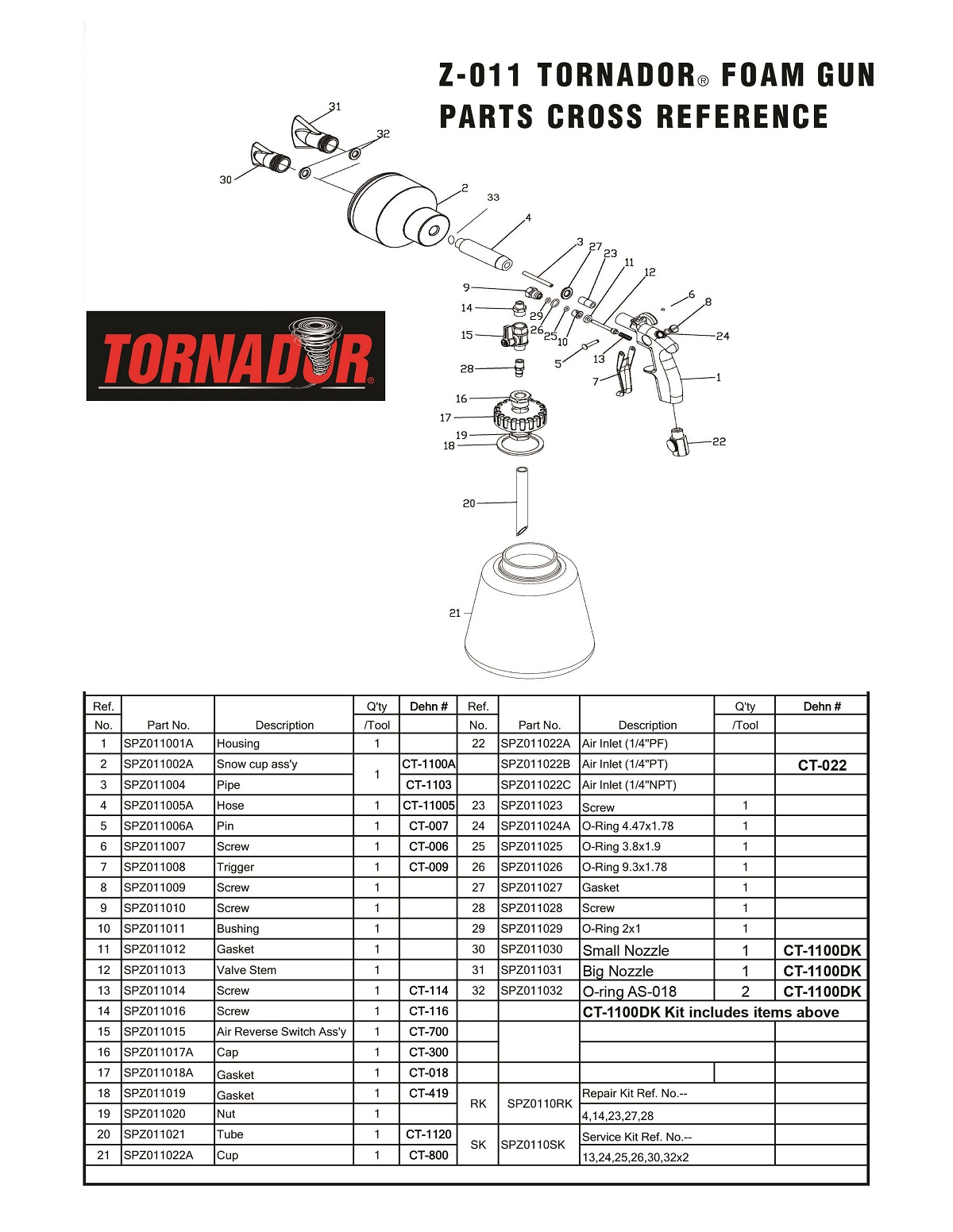 Tornador Parts Professional Detailing Products Because