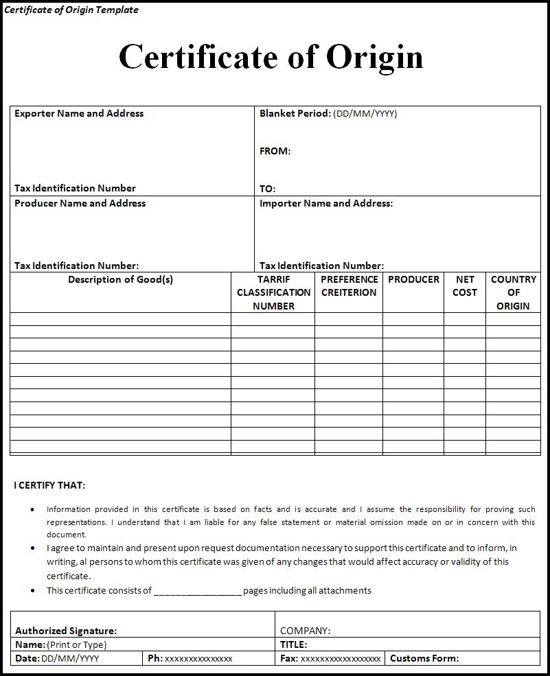 Doc800600 Certificate of Ownership Template Doc827742 – Stock Certificate Format